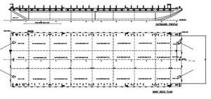 282ft Steel Deck Barge