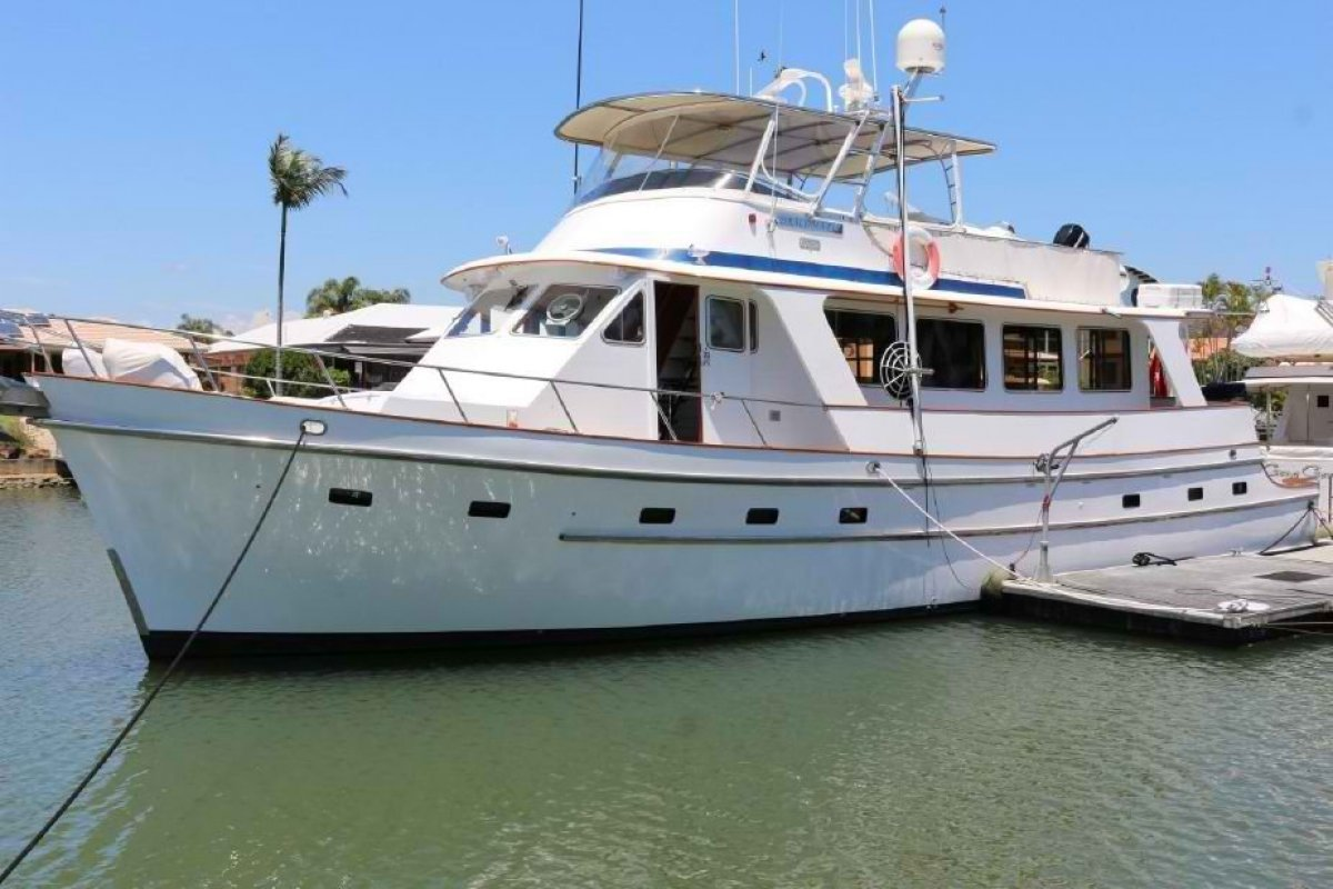 Cheoy Lee 61 Long Range Motor Yacht Exceptional Economical