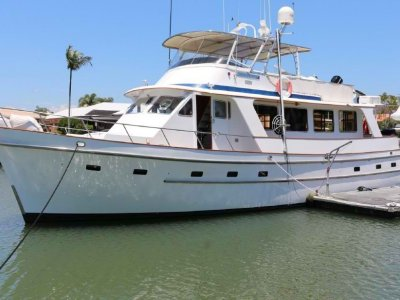 Cheoy Lee 61 Long Range Motor Yacht Exceptional economical cruiser or live aboard