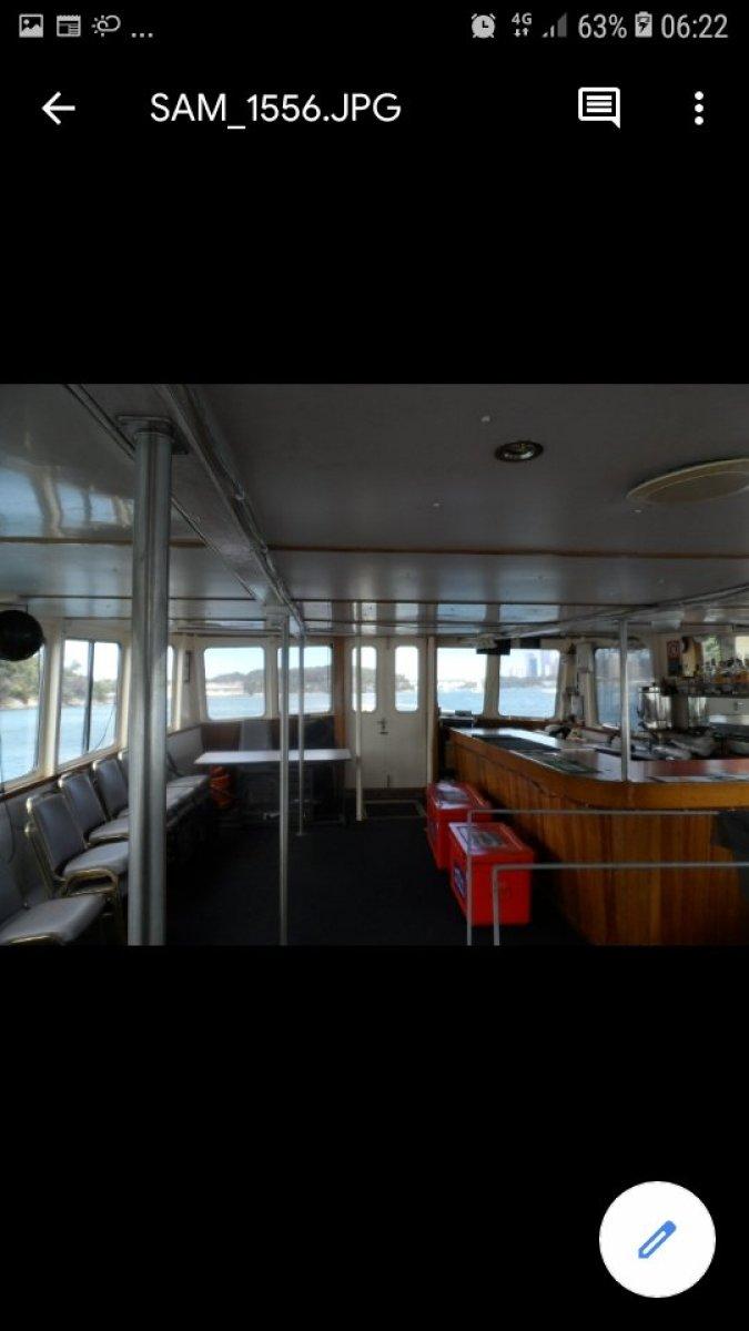 Custom Peter Bracken Built Commercial Vessel
