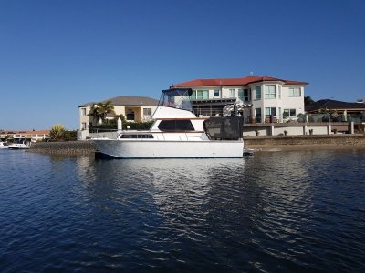 Kliese 36 Timber Flybridge Cruiser