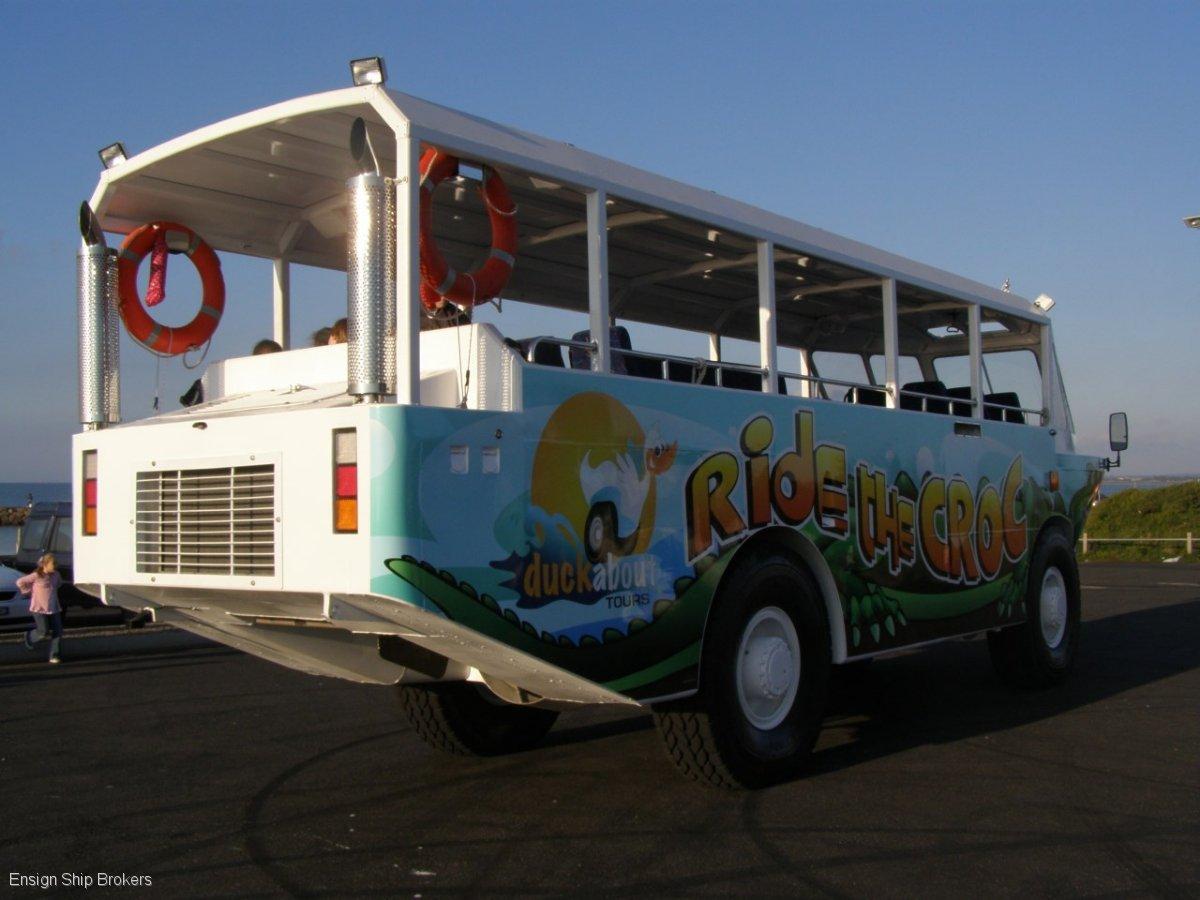 Amphibious Tour Bus For Sale