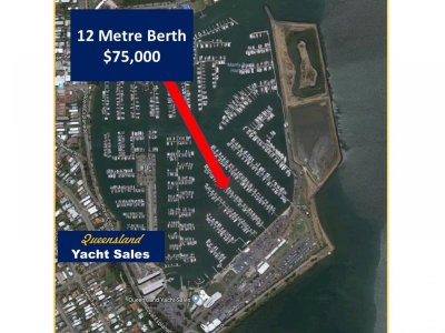 12m Marina Berth - Royal Queensland Yacht Squadron