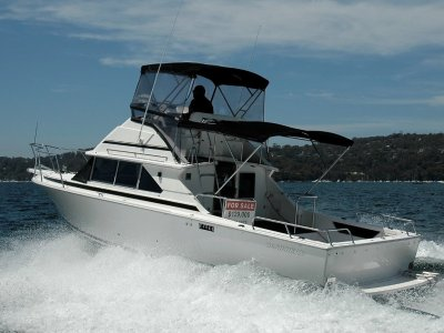 Caribbean 28 Flybridge cruiser