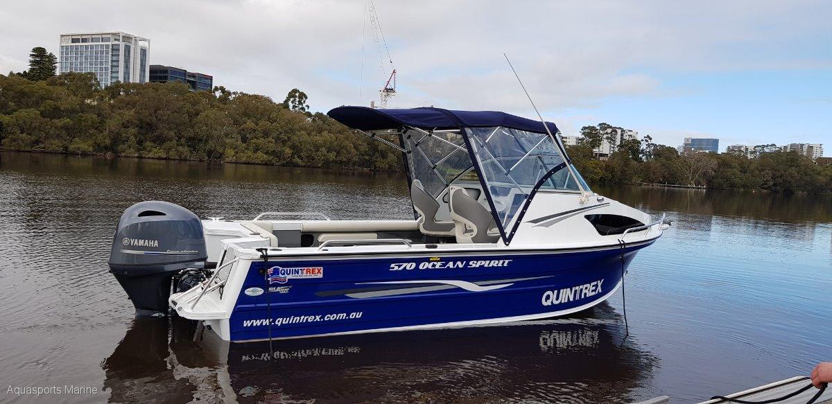 New Quintrex 570 Ocean Spirit