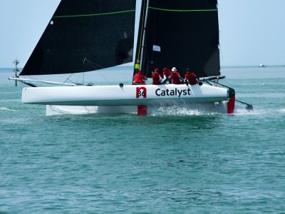 Nacra 36C Carbon Catamaran: cost effective speed.