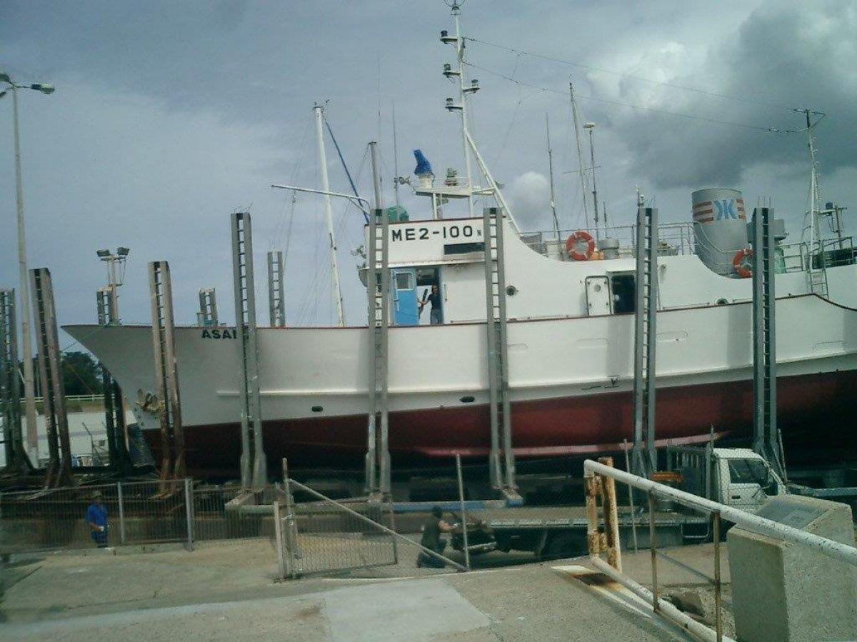 Ex research vessel