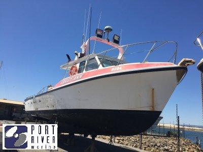Fibrehulls Cray/Fishing Vessel 50' Fibrehull