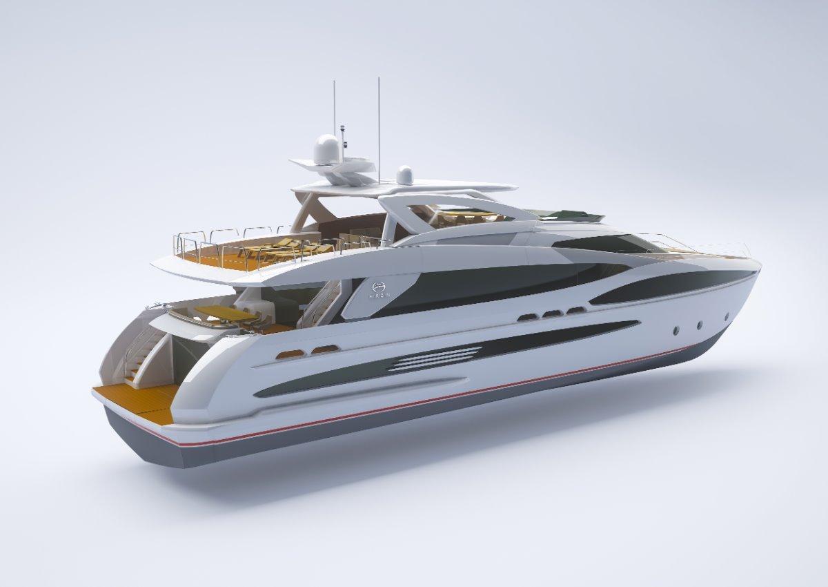 Horizon Yacht FD102