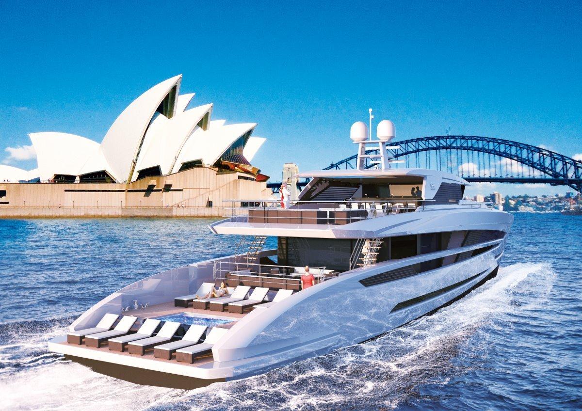 Horizon Yacht FD125
