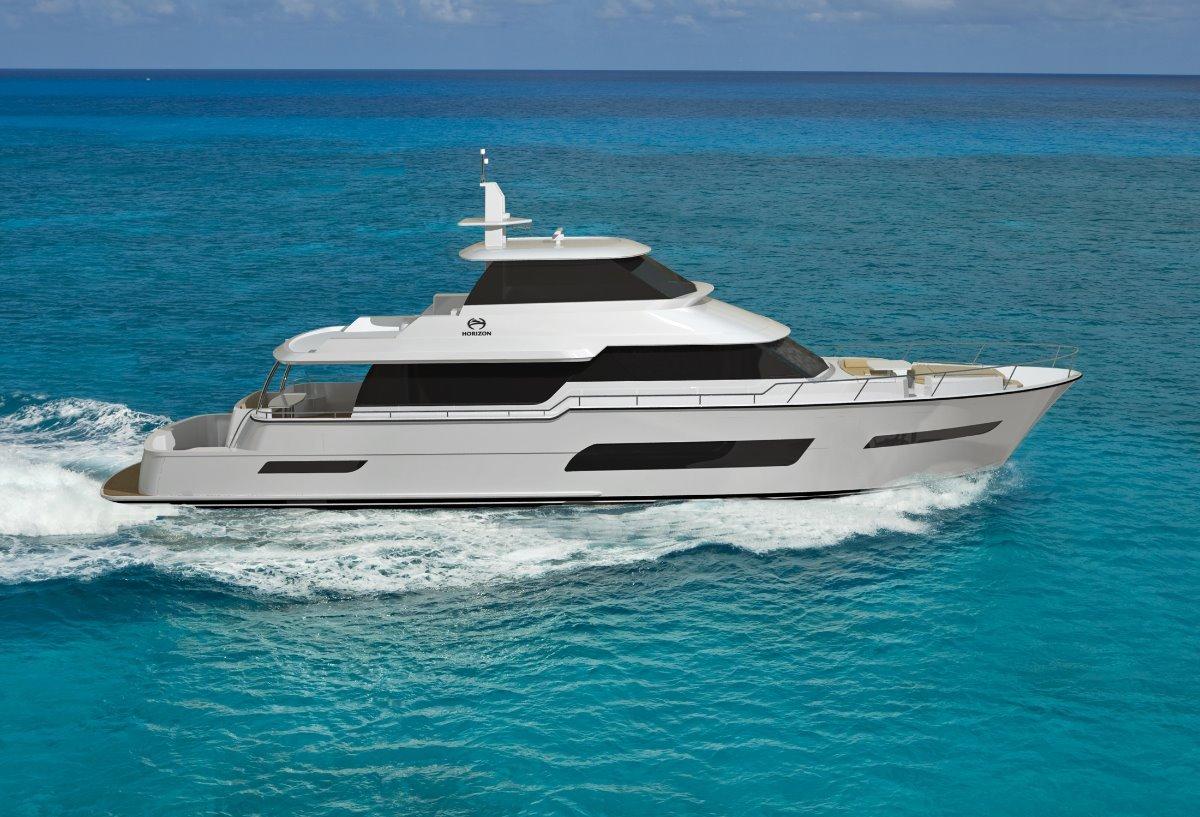 Horizon Yacht V80