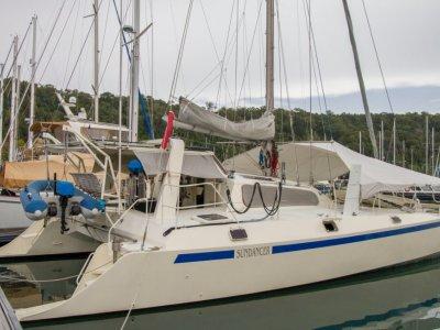 Peter Kerr 13 meter Aluminium Catamaran for sale in Langkawi Malaysia