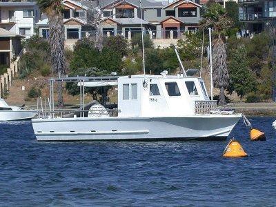 Hartley 30 Ex Cray Boat