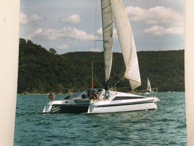 Crowther 36 Sailing Catamaran Crowther 10 extended to 11M