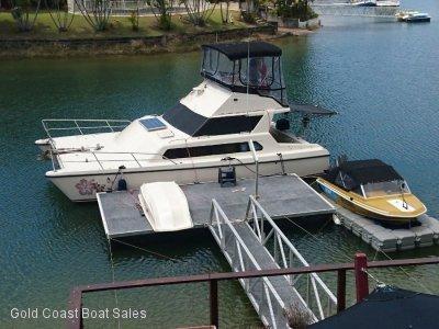 Simpson 32 power catamaran