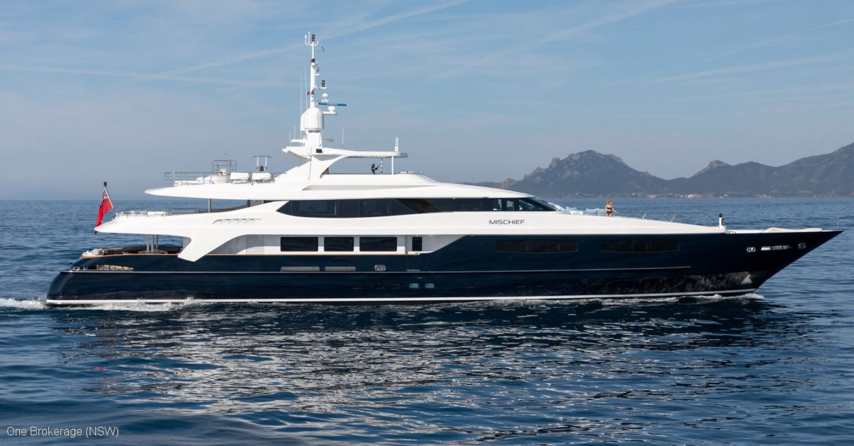 Baglietto 54 Metre Yacht