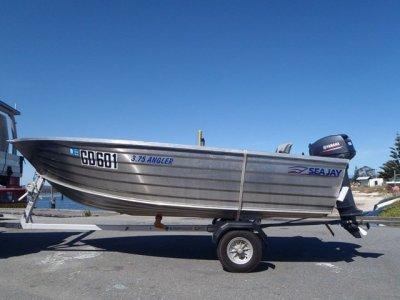 Sea Jay 3.75 Angler OPEN BOAT, DINGHY