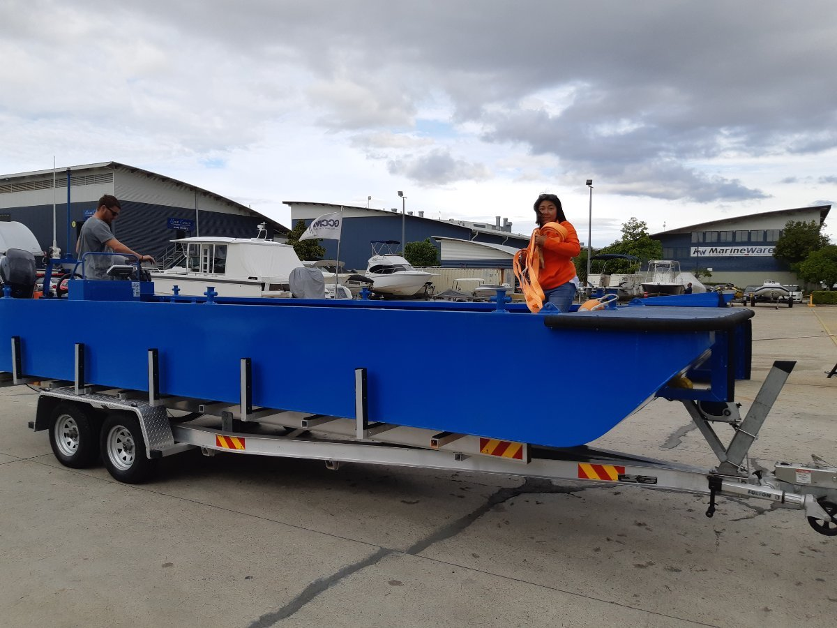 Sabrecraft Marine WB7400 Work Boat Punt - CE Approved