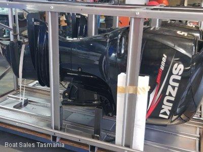 2x 115hp Suzuki 4-stroke outboards