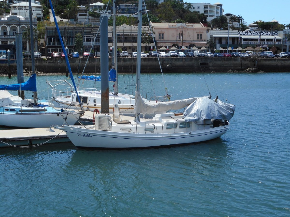Harrison Butler 30 Steel Cruising Yacht