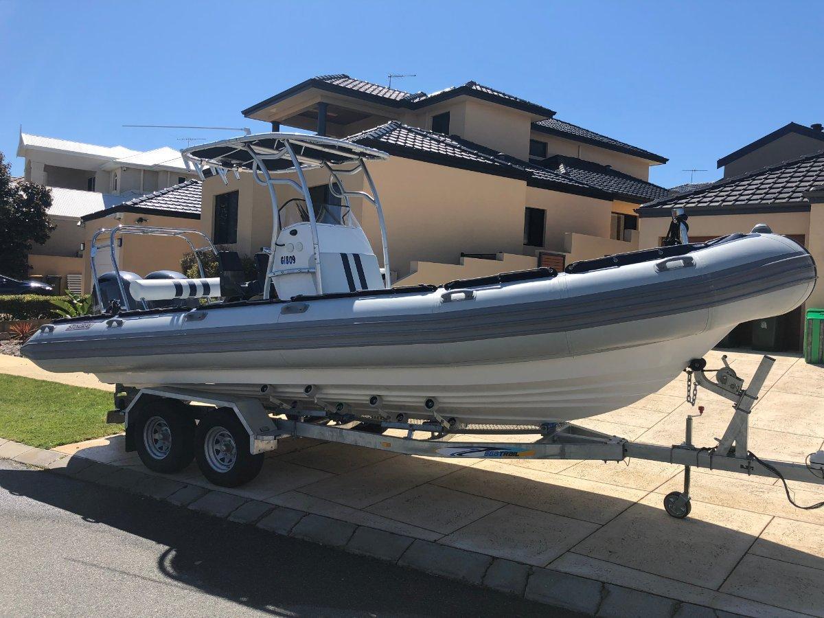 New Stingray Ribs 7 5m Searaider: Power Boats   Boats Online