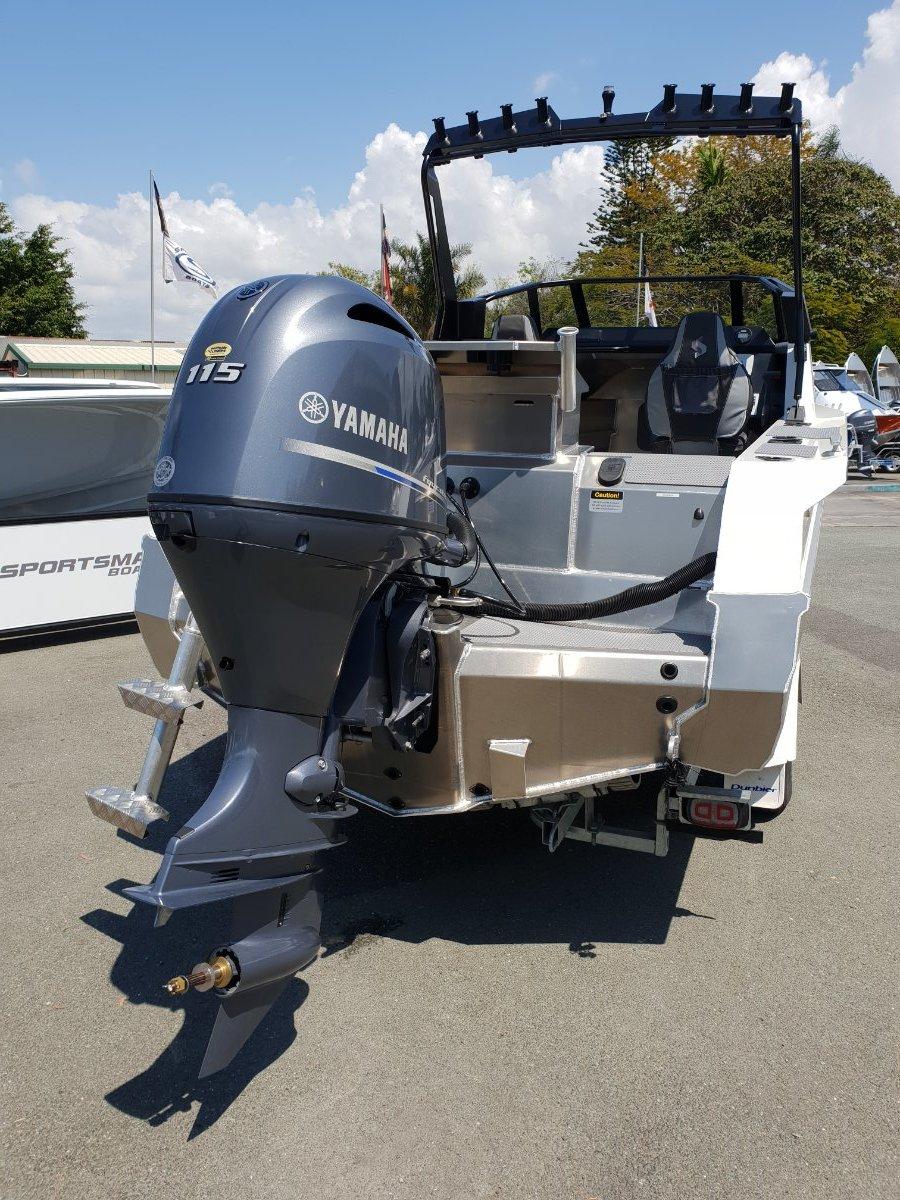 Stabicraft 1850 Fisher + Yamaha F115XB