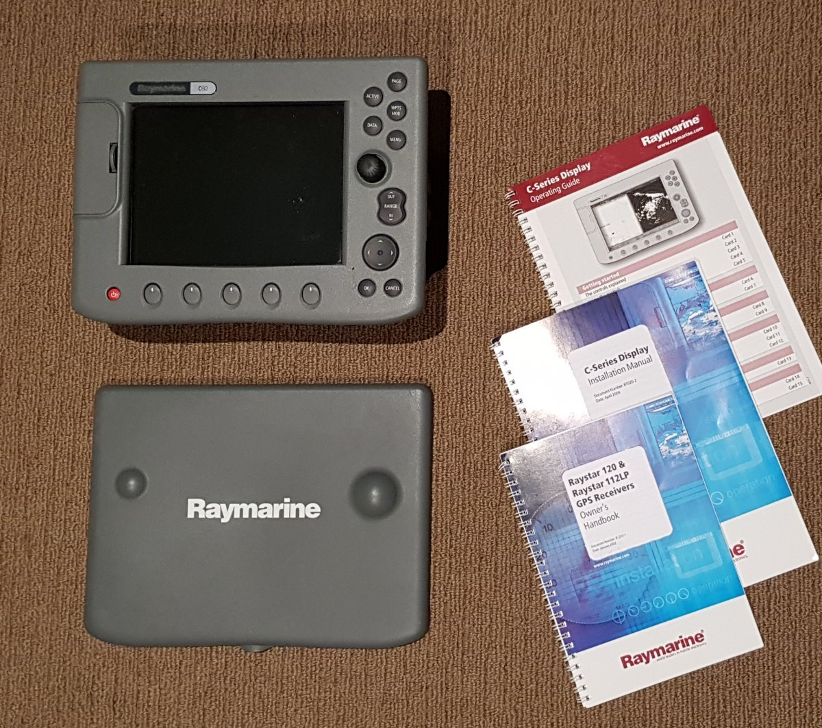 Raymarine C80 Gps/plotter/sounder for Sale | Boat Accessories