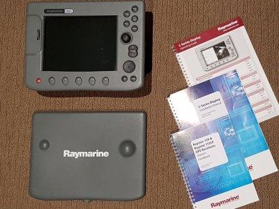 Raymarine C80 GPS/Plotter/Sounder