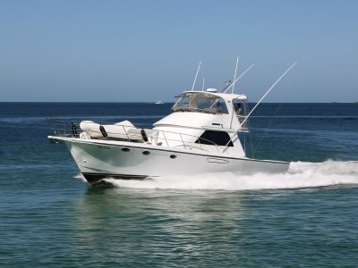 Precision 50 - Refitted from engines to flybridge