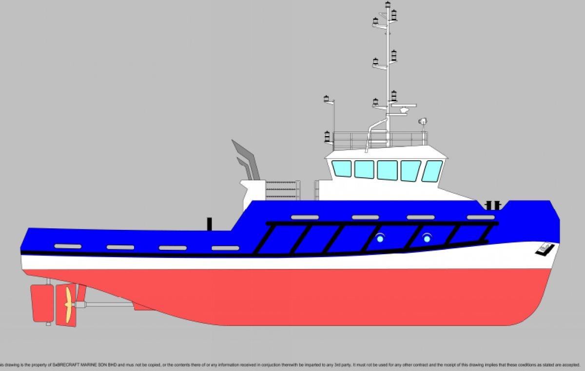 New Sabrecraft Marine Tug Boat 26.00 meter