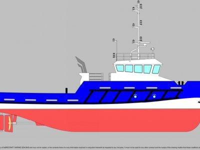 Sabrecraft Marine Tug Boat 26.00 meter