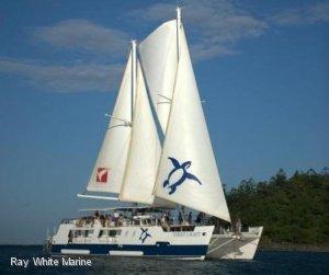 Custom Charter Sailing Catamaran Dive Mothership