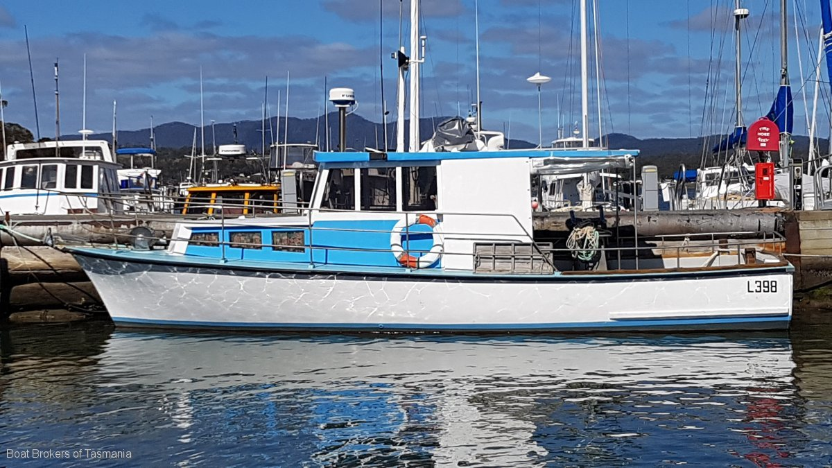 223369 - Custom Huon Pine fishing/charter vessel