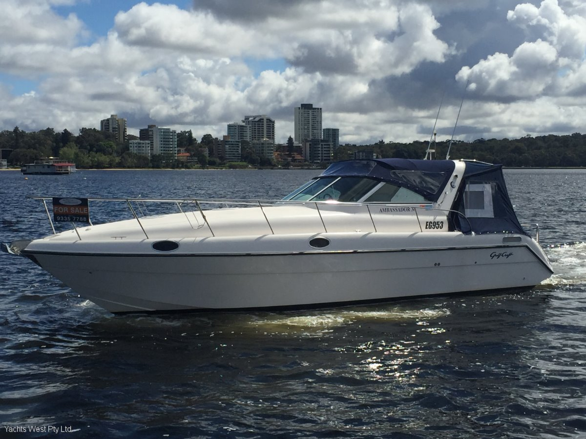 "Gulf Craft Ambassador 36 ""Affordable Family Crusier "":GULFCRAFT 36 by YACHTS WEST"
