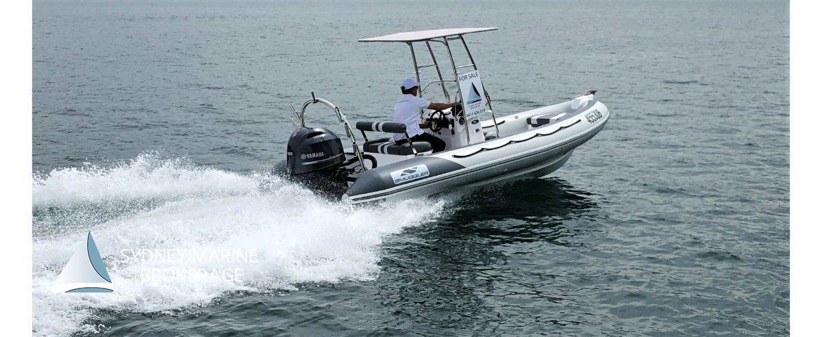 Smuggler Strata 580 RIB