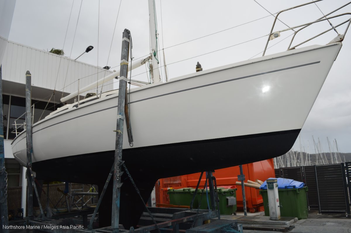 Northshore 33 Immaculate example, New engine & pro, New rigging,:Boat being anti fouled and polished