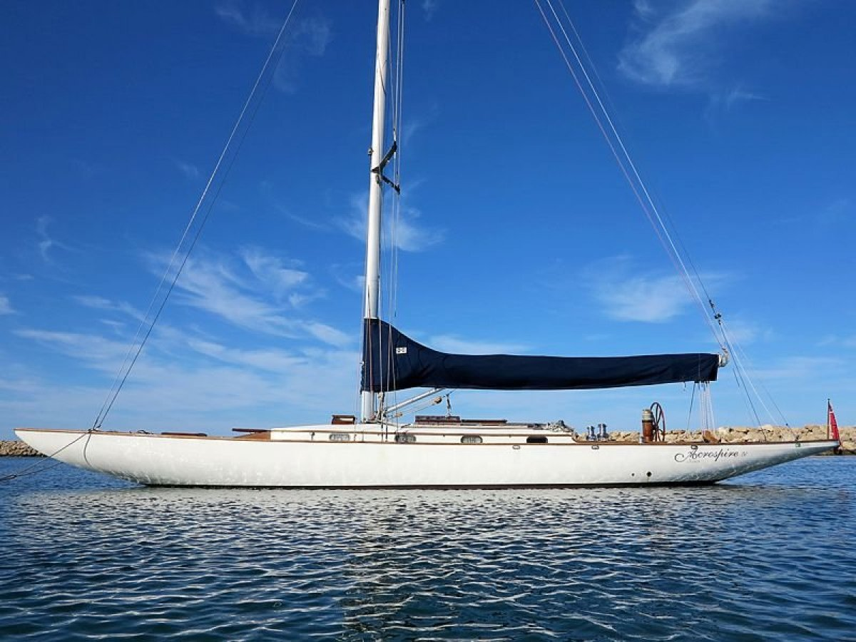 Charlie Peel International 9 metre 1929 Classic 54ft Racing Yacht:ACROSPIRE 1V