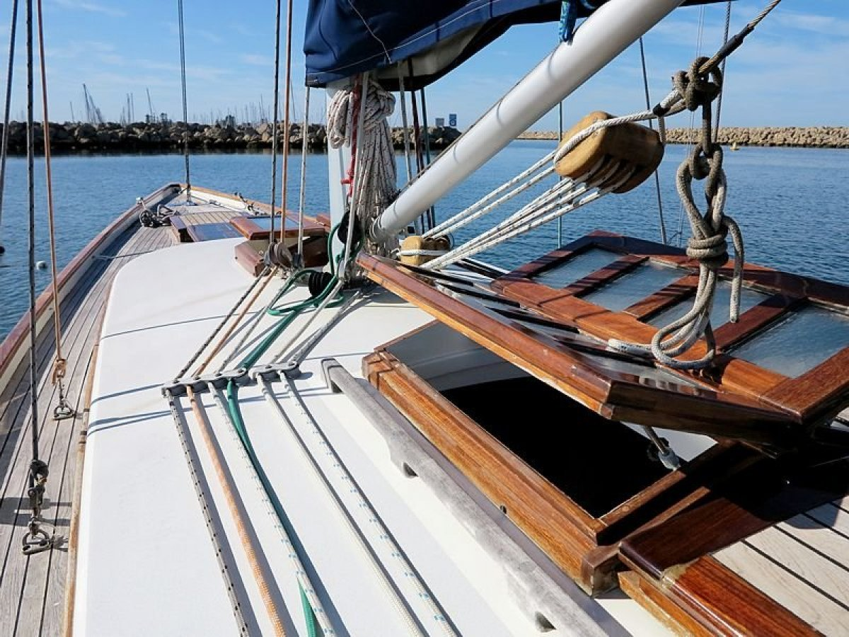 Charlie Peel International 9 metre 1929 Classic 54ft Racing Yacht