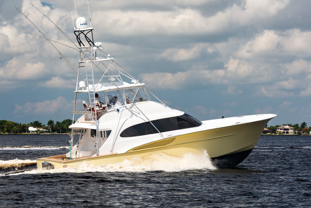 Custom Convertible Sport-Fisherman