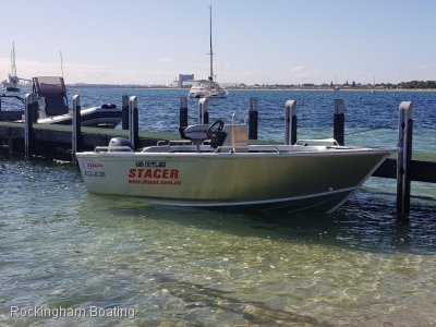 Stacer 469 Outlaw Centre Console 70HP OUTBOARD & TELWATER TRAILER PACKAGE