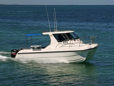 Leisurecat 8000 Sportsfisher - Only 125 hours on the near new Suzuki 200's