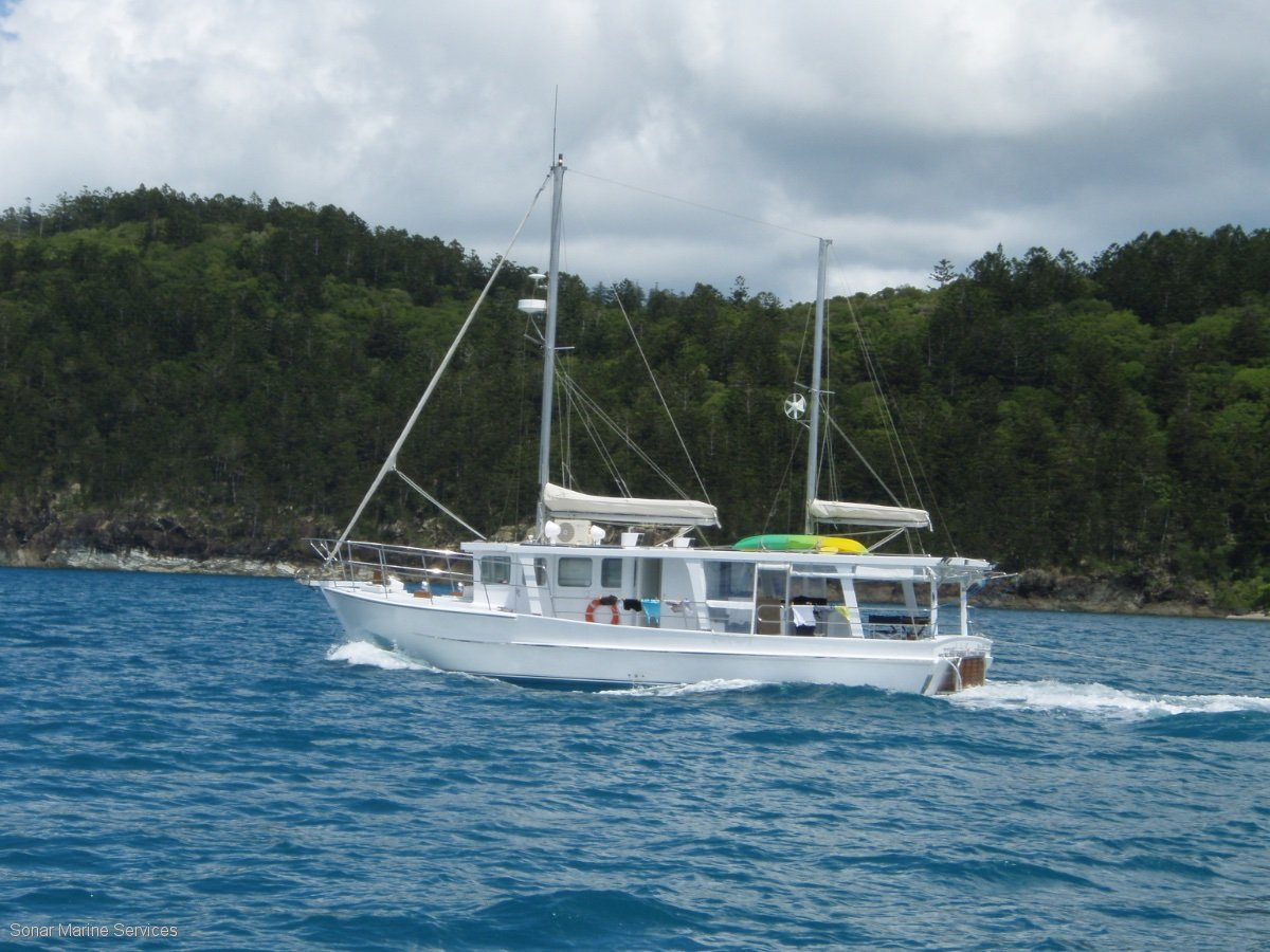 Sharpie Trawler Timber Cruiser