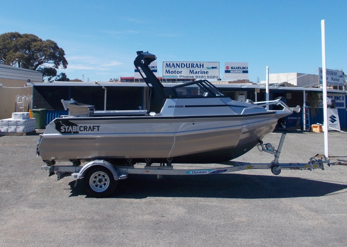 New Stabicraft 1850 Fisher Trailer Boats Boats Online For Sale