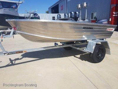 Stacer 359 Seasprite 15HP OUTBOARD & JOHN PAPAS TRAILER PACKAGE