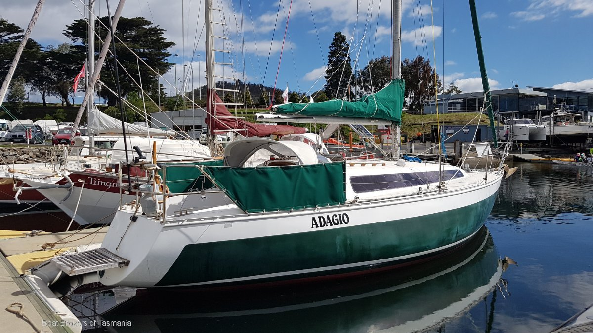224491 - Doven 30 fibreglass sloop