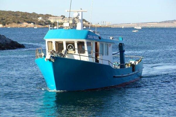 Frank Taffner Built steel hull fishing vessel