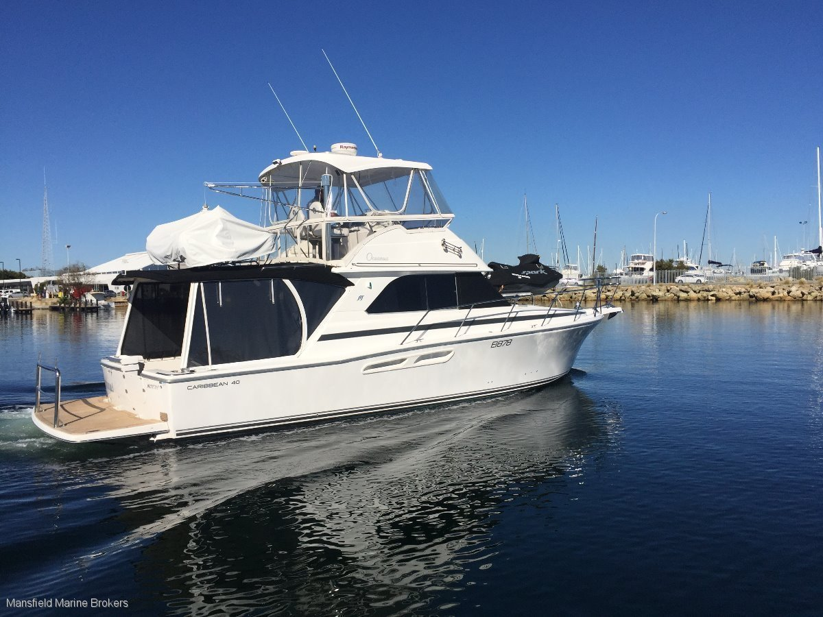 Caribbean 40 Flybridge Cruiser:LOADED with options!