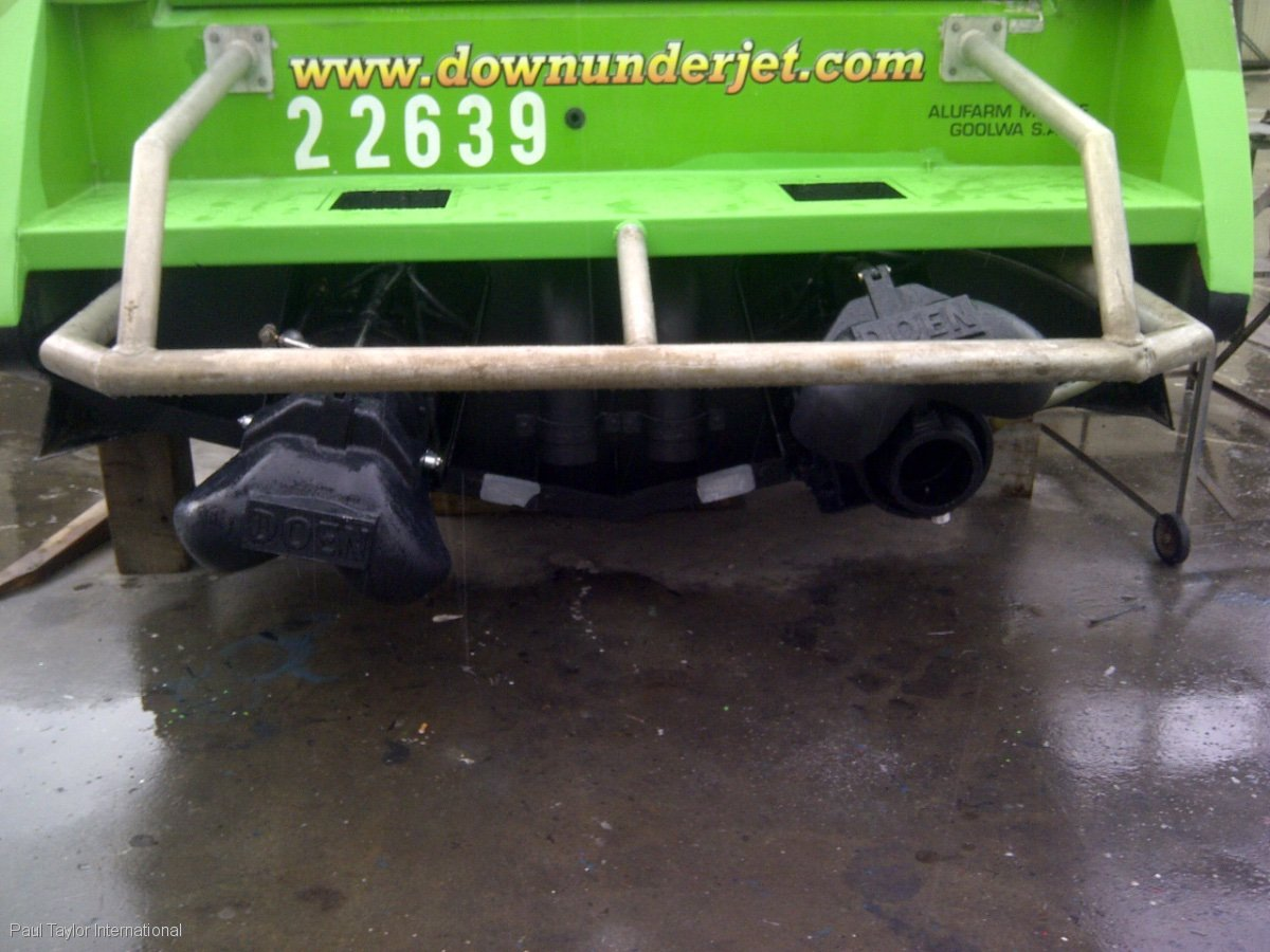 Custom Commercial regisered Jet Boat