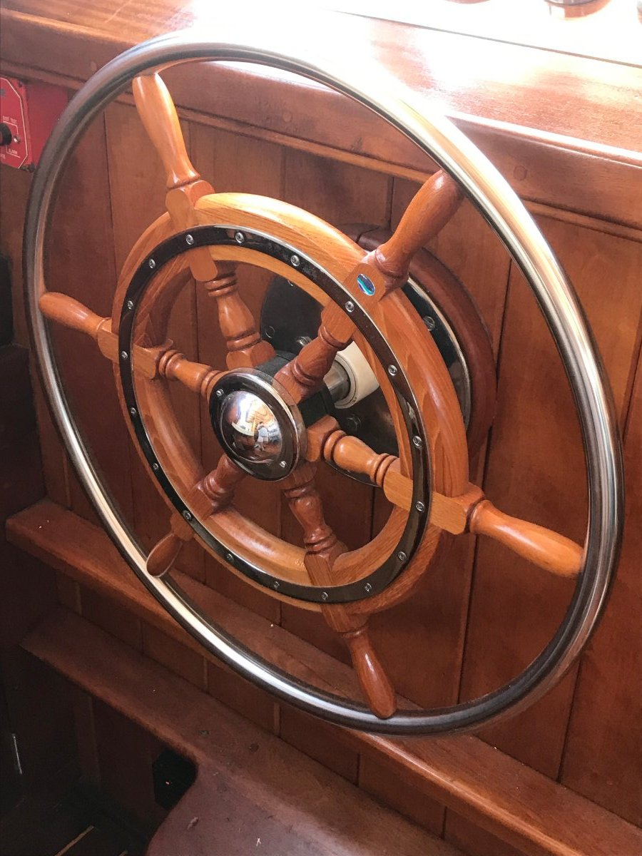Robert Beebe Designed Passagemaker Motorsailer