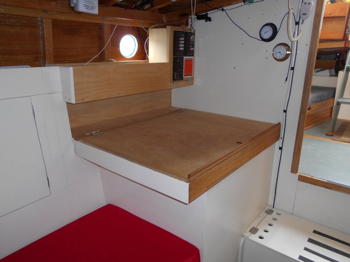 William Atkins Pilothouse Style Yacht Timber